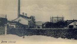 Gasanstalt - Postkarte aus der Zeit um 1900